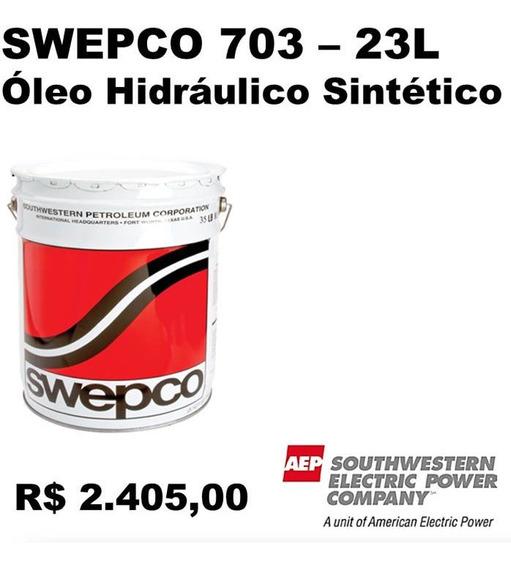 Oleo Hidraulico Múltiplo Sintetico - Swepco 703 - 23l