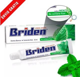 Pasta Dental Sin Flúor, 10 Pzas De 50 Ml, Crema Dental