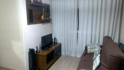 Apto 50m2, 2 Dormitórios Totalmente Mobiliado E Reformado
