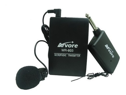 Microfone Lapela Sem Fio Profissional P10 - Pronta Entrega