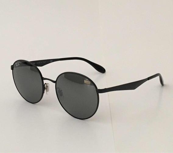 Óculos De Sol Ray Ban New Round-rb3537 51/19