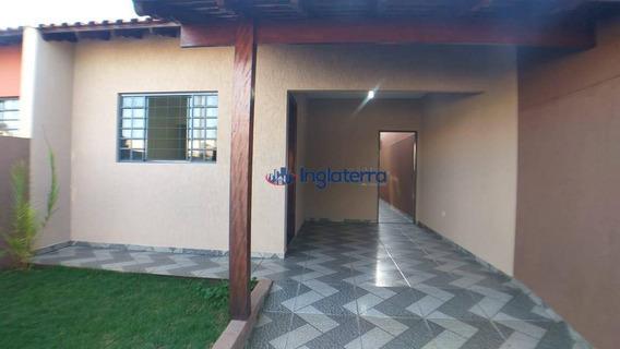 Casa À Venda, 90 M² Por R$ 210.000,00 - Indústrias - Londrina/pr - Ca0944