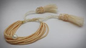 4c506ca6df3e Pulsera De Moda Con Perlas Y Cristales  120 - Pulseras en Mercado ...