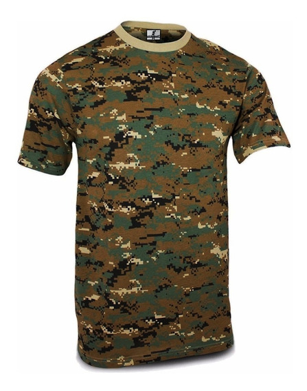 Remera Camuflada Digital Marpat 45045