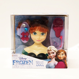 Figura Para Peinar Frozen Styling Head Elsa Anna Tapi