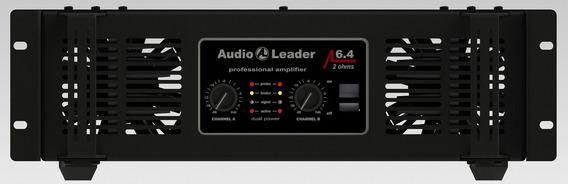 Potencia Amplificador Áudio Leader Al 6.4 6400 W Rms 2 Ohms