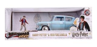 Harry Potter Auto Y Figura Metal Die Cast Jada 1:24 - Candos