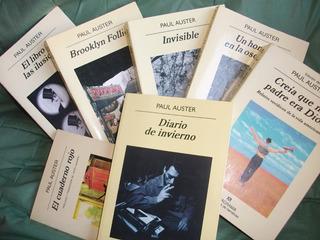 Colección 23 Libros De Paul Auster Digital