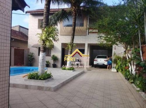 Sobrado Com 2 Dormitórios À Venda, 167 M² Por R$ 550.000,00 - Mirim - Praia Grande/sp - So0073