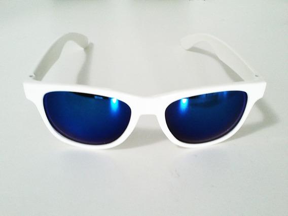 Óculos, Balada, Festa, Debutante Branco / Azul Way - Geek