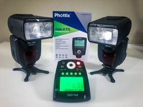 2 Flashs Phottix Mitros+ Ttl Para Sony A7 Iii