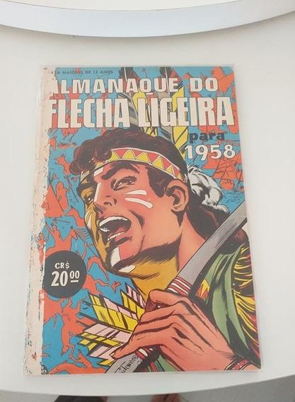 Almanaque Do Flecha Ligeira 1958 (frete Gratis)