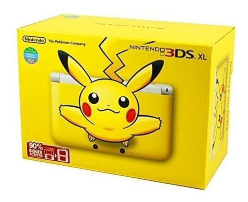 Nintendo 3ds Xl - Pikachu Amarillo