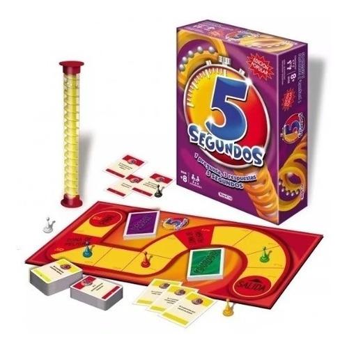 Juego De Mesa 5 Segundos Popular Orig. Toyco