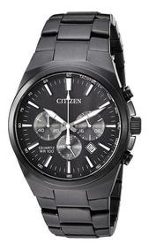 Relógio Citizen Masculino Ref: Tz31105p Cronógrafo Black