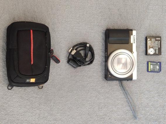 Panasonic Zs50 Em Ótimo Estado + Sd + Case