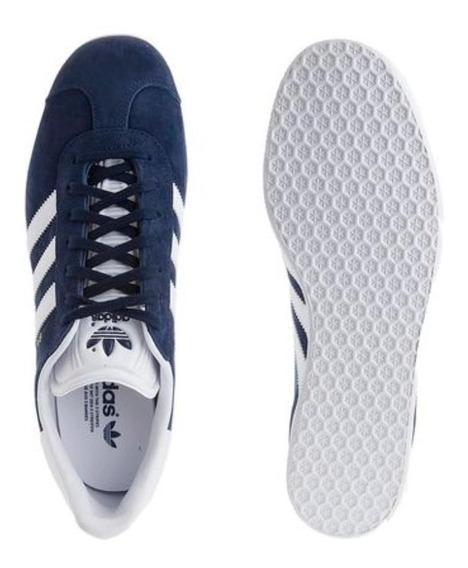 Zapatilla adidas Gazelle Azul Clasicos Hombre Originales