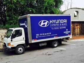 Camion Hyundai Hd-78 De Demo Con Caja Seca De 27,500 Lt