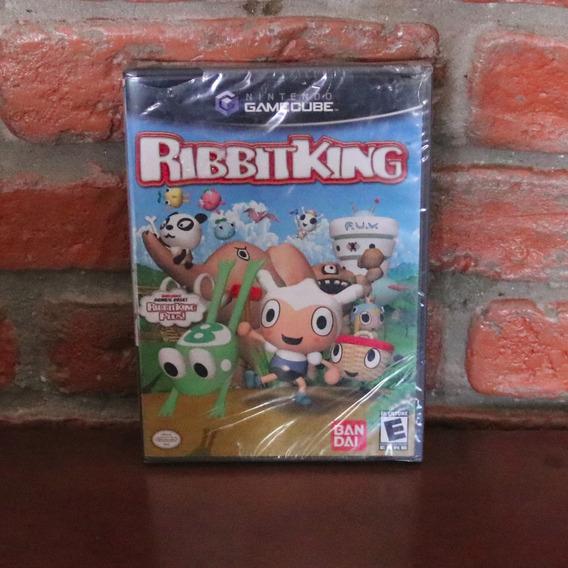 Ribbit King Novo Lacrado Raro Original Americano Gamecube