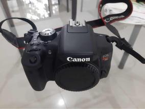 Câmera Canon T6i Com Lente 18-135mm F3.5-5.6 Seminova.