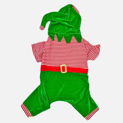 Enterizo De Reno P/ Perros Hasta Talla 6 (disfraz Navidad)