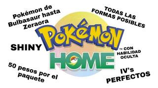 Pokémon Home Shinydex Completa Iv Perfectos De Kanto A Alola