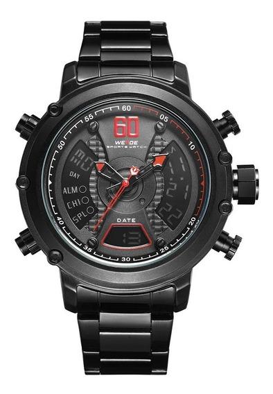 Reloj Original Weide Wh6905b + Estuche Y Envío