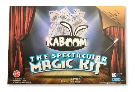 Set De Magia The Spectacular Magic Kit Niños Magias Kaboom