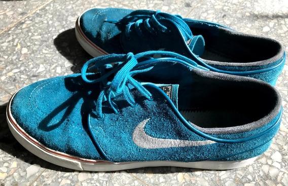 Zapatilla Nike Janoski Celestes