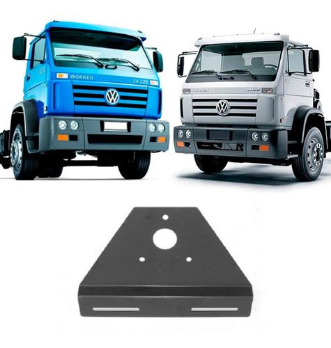 Suporte Da Placa Traseira Caminhão Vw Ford T12945411 - Ferro