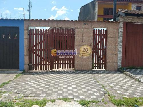 Casa Com 2 Dorms, Agenor De Campos, Mongaguá - R$ 160 Mil, Cod: 8160 - V8160