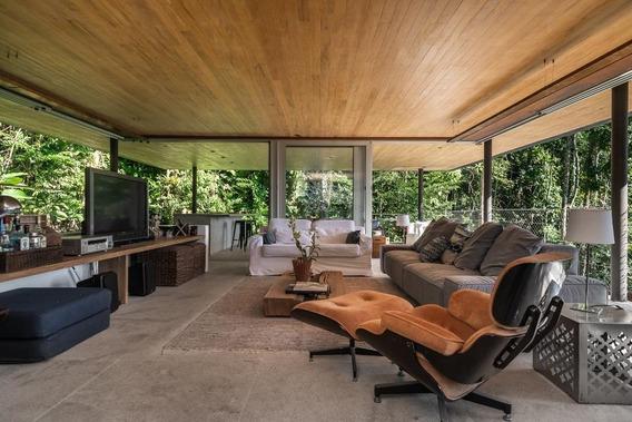 Casa Em Praia De São Pedro, Guarujá/sp De 550m² 4 Quartos À Venda Por R$ 12.000.000,00 - Ca266982