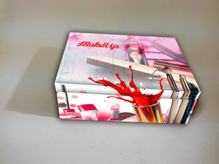 Make Up Caja De Maquillaje Con Divisiones