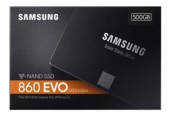 Ssd 500gb Samsung 860 Evo Sata3 6gb/s 2.5 550mb/s
