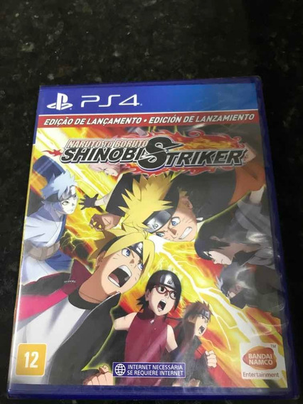 Jogo Naruto Boruto Shinobi Striker Original Lacrado Novo
