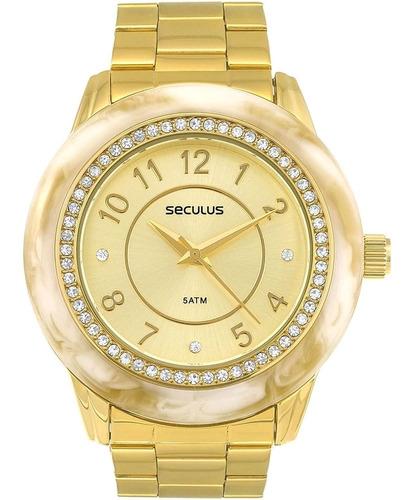 Relógio Feminino Seculus 60661lpsvds1 Barato Original