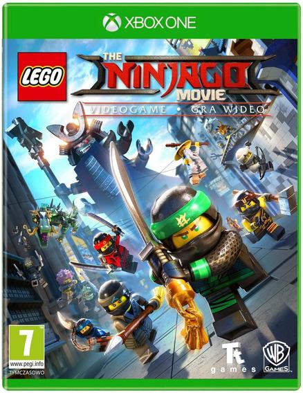 Jogo Lego Ninjago - O Filme (novo) Xbox One