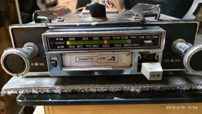 Rádio Toca Fitas Tkr Cara Preta Fusca Opala Puma