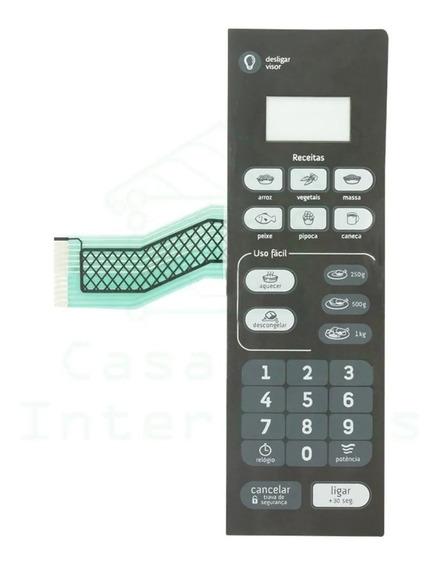 Membrana Teclado Microondas Consul Cmo20 Preta