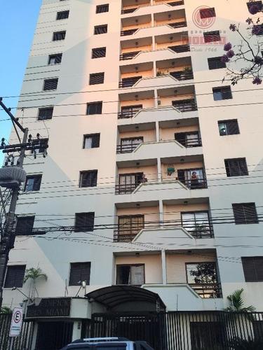 Apartamento Com 3 Dormitórios, 80 M² - Venda Por R$ 320.000,00 Ou Aluguel Por R$ 800,00/mês - Centro - Piracicaba/sp - Ap0150