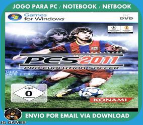 Pro Evolution Soccer Pes 2011 Pc Jogo Digital