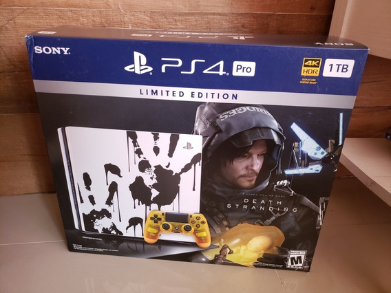 Ps4 Pro Death Stranding Edition Novo Lacrado!!