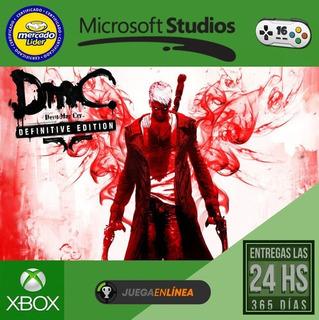 Dmc Devil May Cry - Xbox One - Modo Local