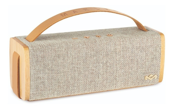 Parlante Bluetooth House Of Marley Riddim Natural
