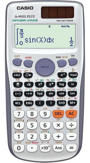 Calculadora Científica 417 Funções Casio - Fx-991es Plus +nf