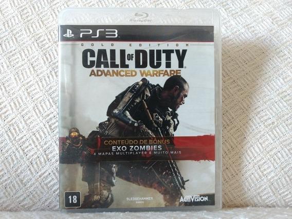 Jogo Ps3 Call Of Duty Advanced Warfare Gold Edition Original