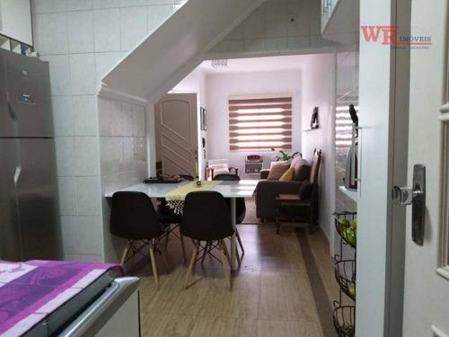 Imagem 1 de 29 de Sobrado Com 2 Dormitórios À Venda, 75 M² Por R$ 300.000,00 - Paulicéia - São Bernardo Do Campo/sp - So0875