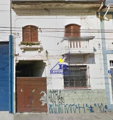 Sobrado Residencial À Venda, Moóca, São Paulo. - So0089