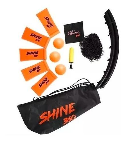 Juego Shine 360 Mochila 3 Pelotas Original!!