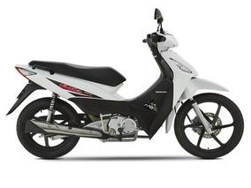 Moto Honda Biz 125 Ksst Nueva 0 Km Blanca